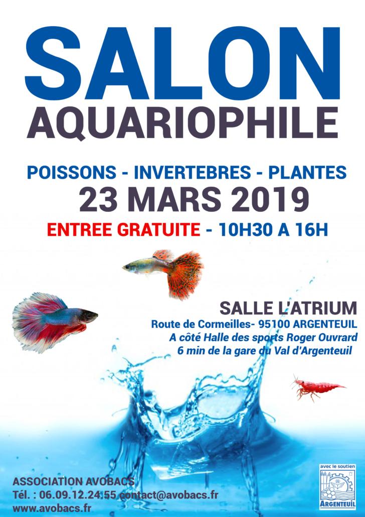 Bourse Aquariophile Avobacs - 23 Mars 2019