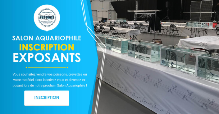 Inscription Exposant - Bourse Aquariophile Avobacs
